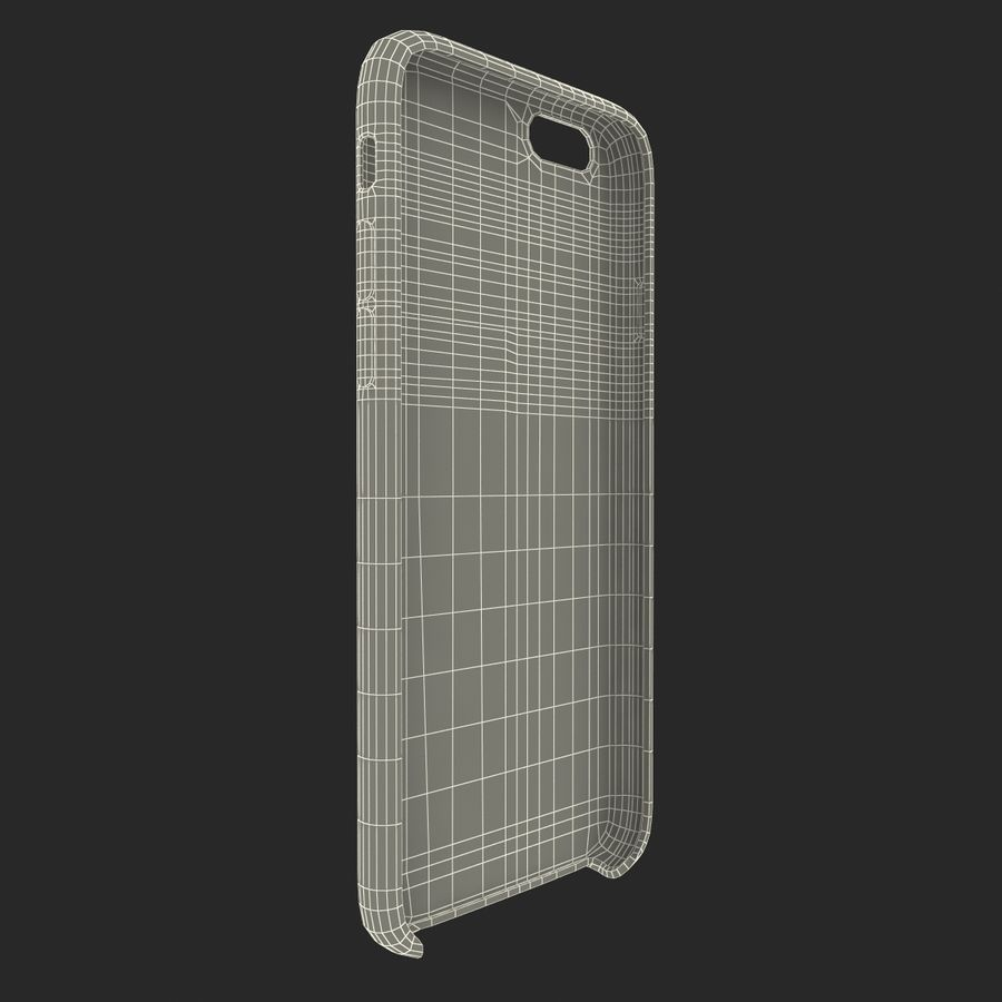 iPhone 6 Plus Leather Case Grey royalty-free 3d model - Preview no. 26