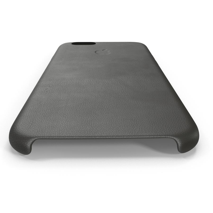 iPhone 6 Plus Leather Case Grey royalty-free 3d model - Preview no. 9