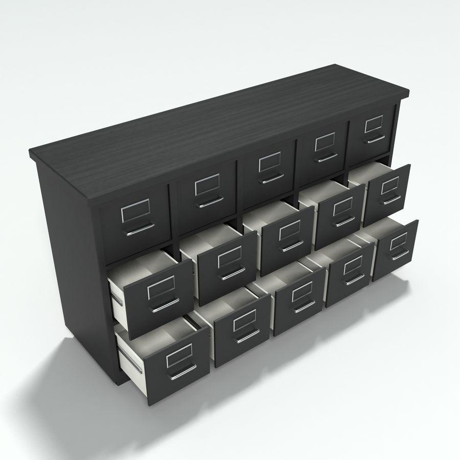 Collezione di mobili per ufficio royalty-free 3d model - Preview no. 24