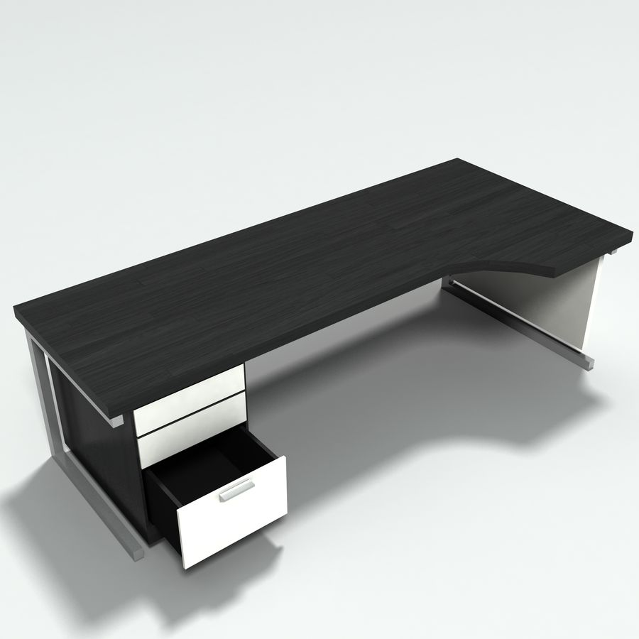 Office Furniture Collection royalty-free 3d model - Preview no. 10