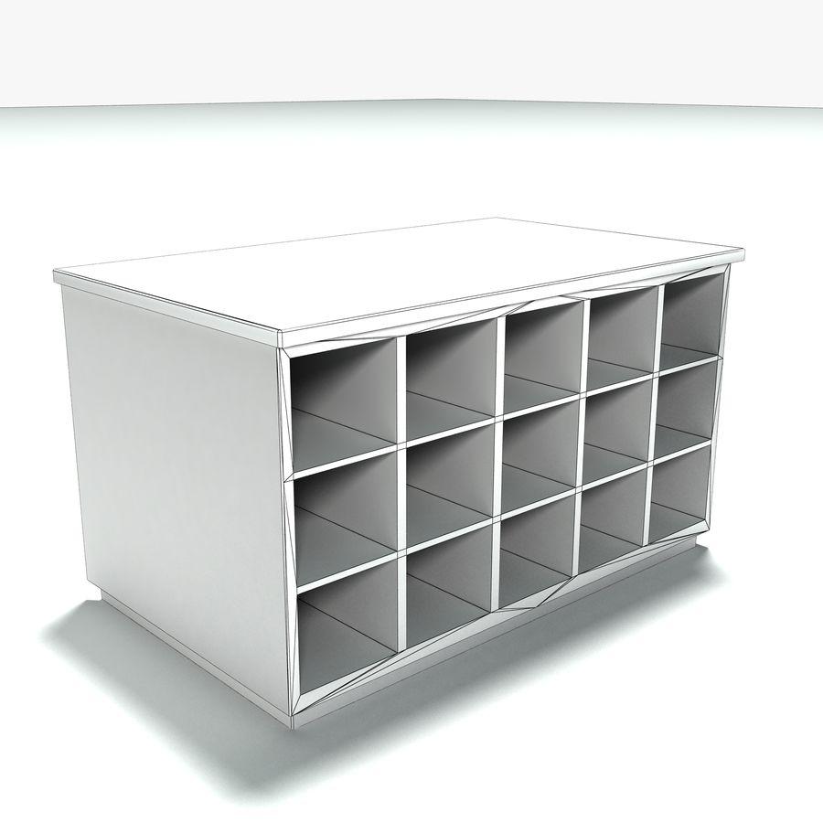 Collezione di mobili per ufficio royalty-free 3d model - Preview no. 27