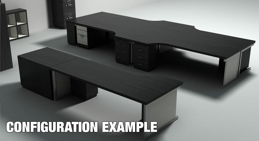 Collezione di mobili per ufficio royalty-free 3d model - Preview no. 4