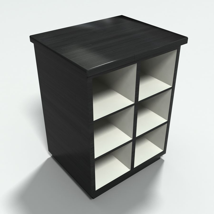 Office Furniture Collection royalty-free 3d model - Preview no. 22