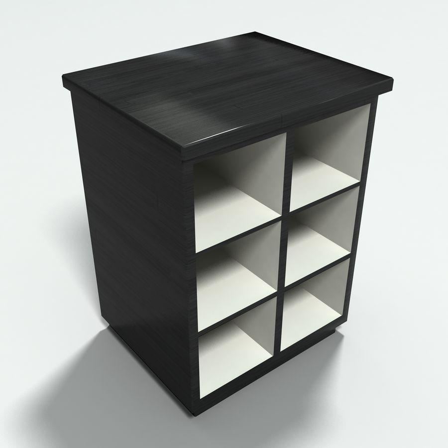 Collezione di mobili per ufficio royalty-free 3d model - Preview no. 22