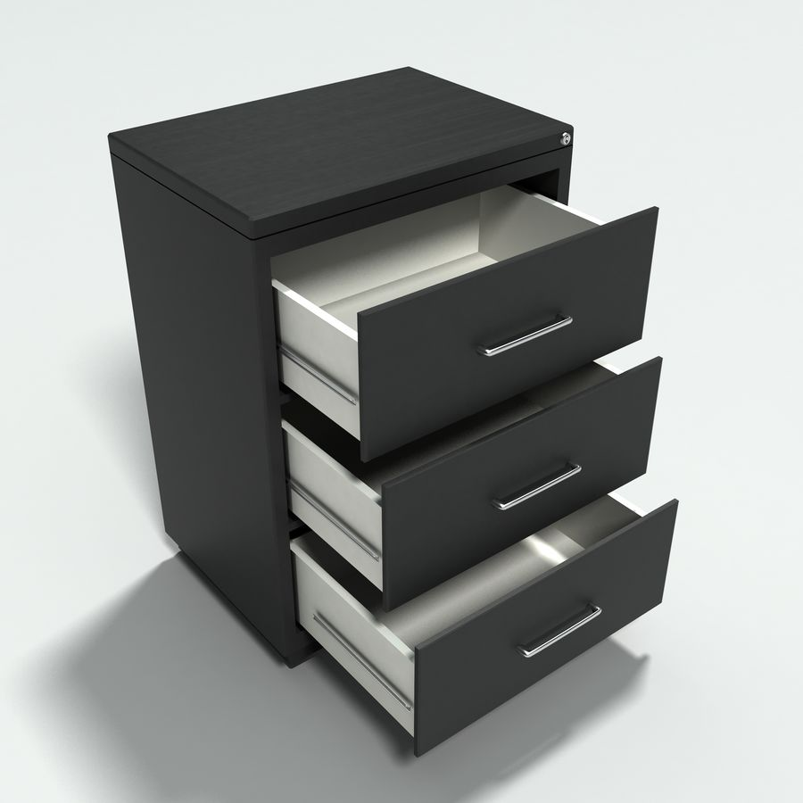 Collezione di mobili per ufficio royalty-free 3d model - Preview no. 16