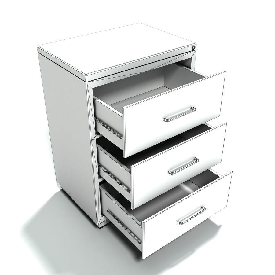 Collezione di mobili per ufficio royalty-free 3d model - Preview no. 17
