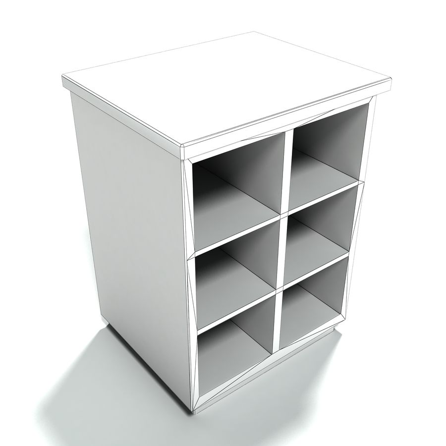 Collezione di mobili per ufficio royalty-free 3d model - Preview no. 23