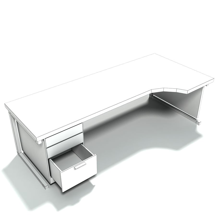 Office Furniture Collection royalty-free 3d model - Preview no. 11