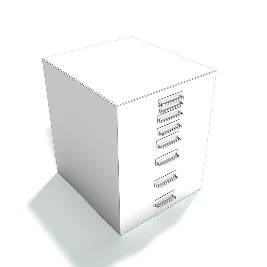 Office Furniture Collection royalty-free 3d model - Preview no. 13