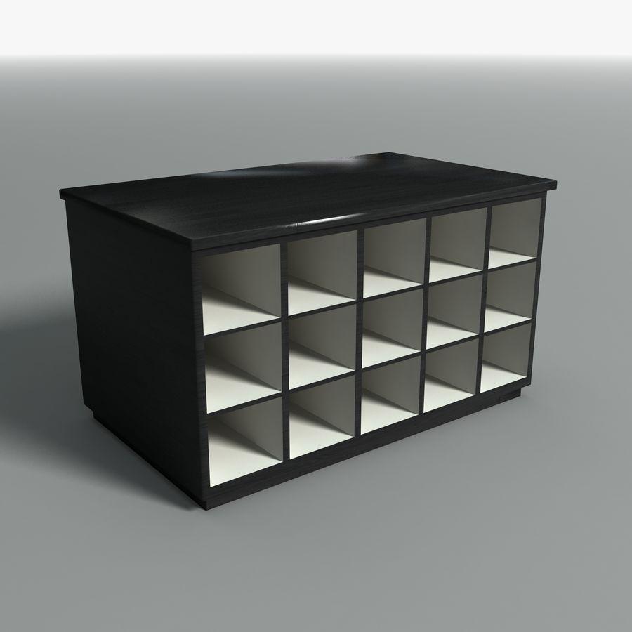 Collezione di mobili per ufficio royalty-free 3d model - Preview no. 26