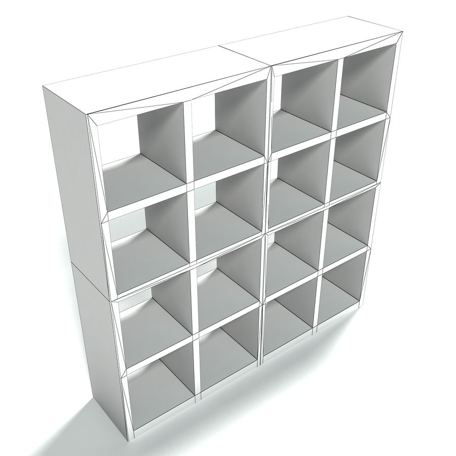 Office Furniture Collection royalty-free 3d model - Preview no. 21