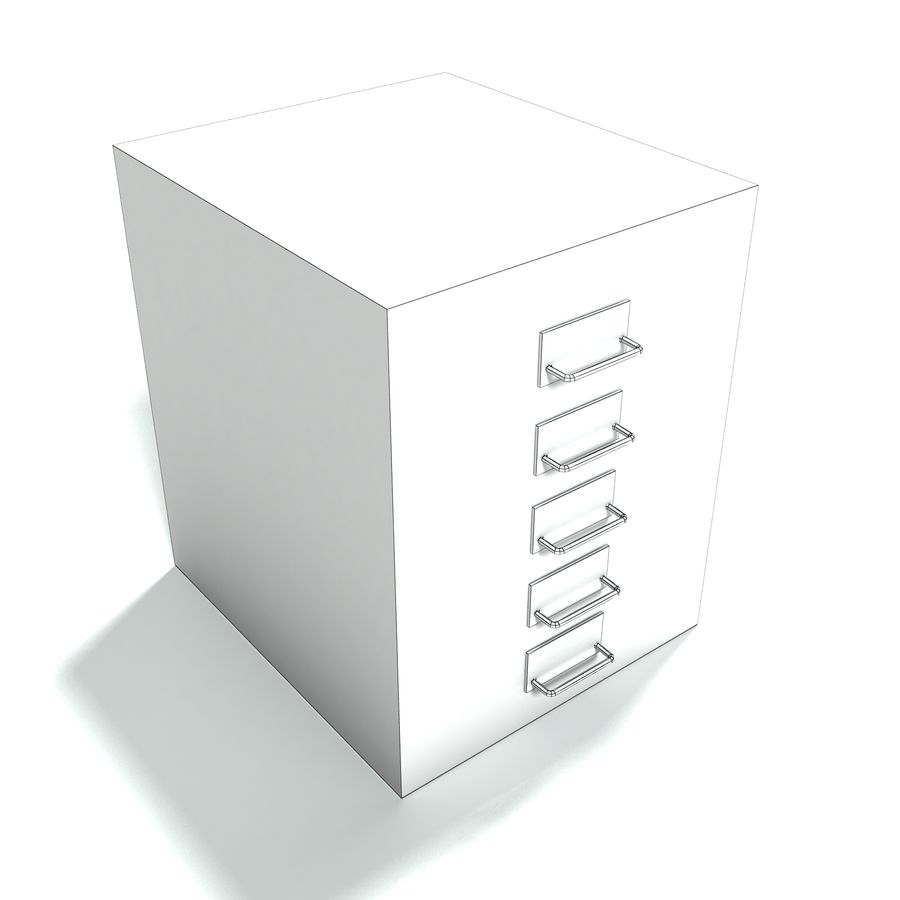 Office Furniture Collection royalty-free 3d model - Preview no. 15