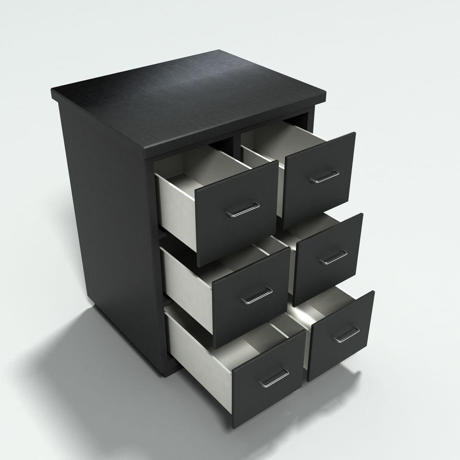 Collezione di mobili per ufficio royalty-free 3d model - Preview no. 18