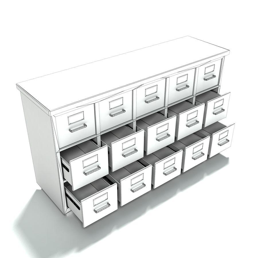 Collezione di mobili per ufficio royalty-free 3d model - Preview no. 25