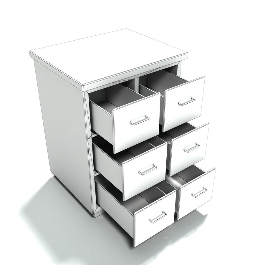 Office Furniture Collection royalty-free 3d model - Preview no. 19