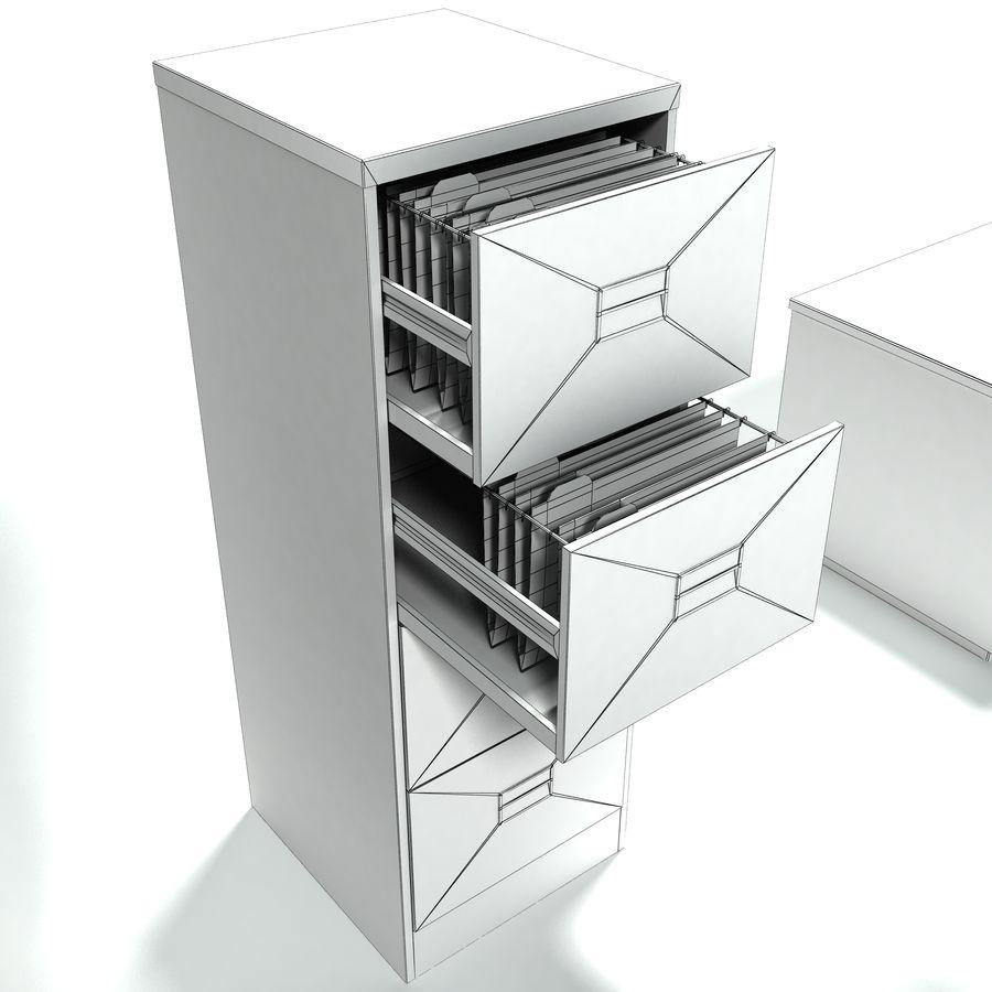Collezione di mobili per ufficio royalty-free 3d model - Preview no. 7