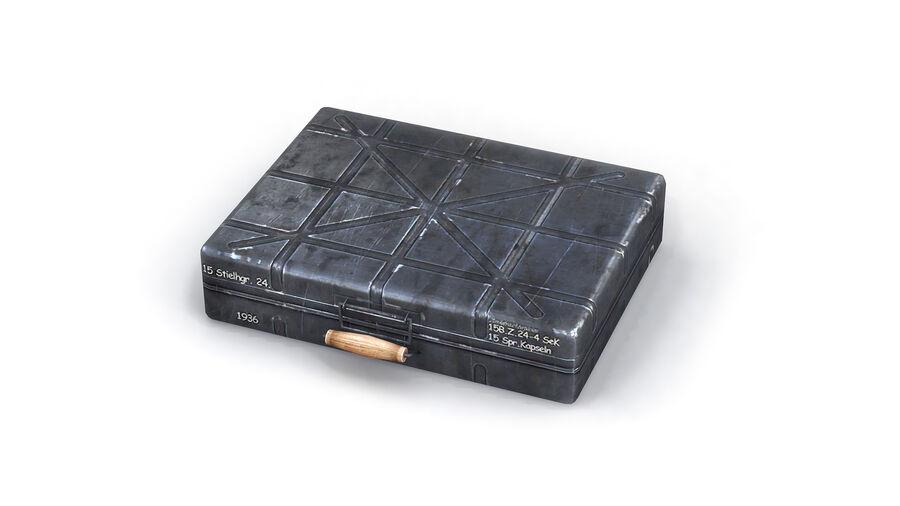 第二次世界大戦ドイツの箱1 royalty-free 3d model - Preview no. 6