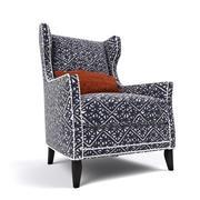 Cadeira de asa por Fairfield 3d model