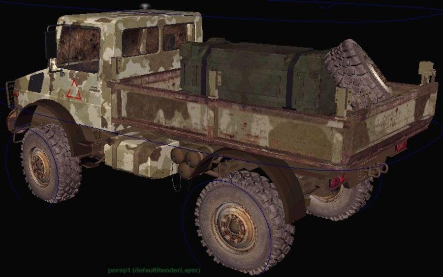 Ordu Unimog royalty-free 3d model - Preview no. 5