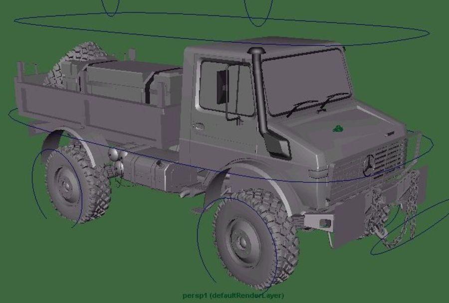 Ordu Unimog royalty-free 3d model - Preview no. 6