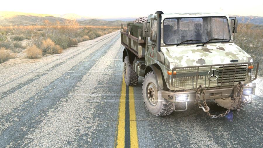 Ordu Unimog royalty-free 3d model - Preview no. 2