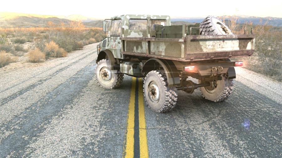 Ordu Unimog royalty-free 3d model - Preview no. 3