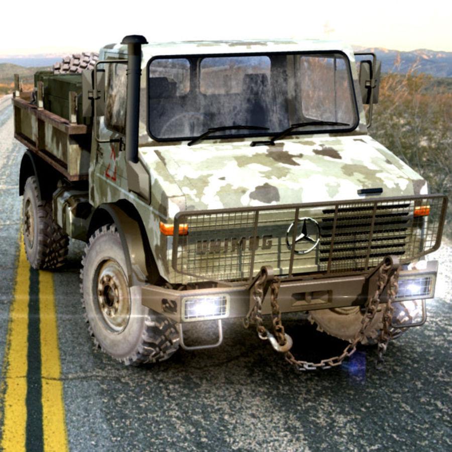 Ordu Unimog royalty-free 3d model - Preview no. 1