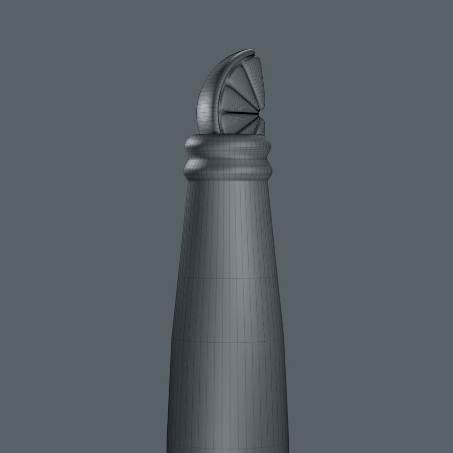 코로나 맥주 royalty-free 3d model - Preview no. 10