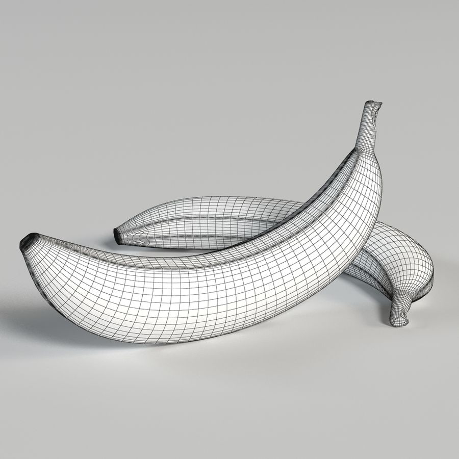 Banana royalty-free 3d model - Preview no. 11