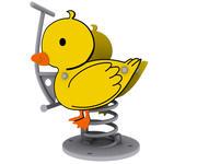 Bahar binici- ördek 3d model