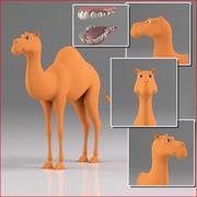 卡通骆驼 3d model