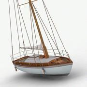 Sailboat 3d model