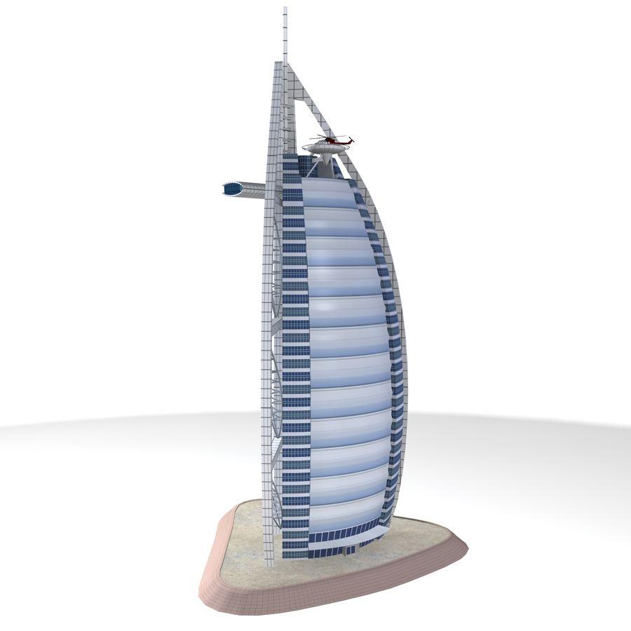 burj al arab 3d model free download