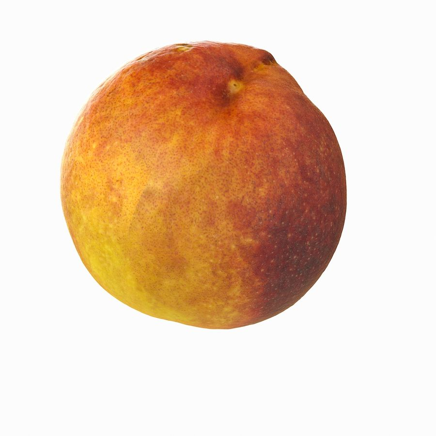 Tropical Realistic Peach royalty-free 3d model - Preview no. 16