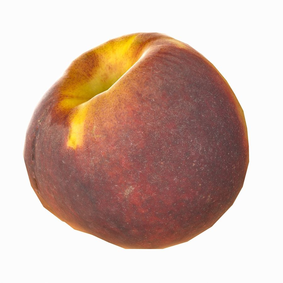 Tropical Realistic Peach royalty-free 3d model - Preview no. 20