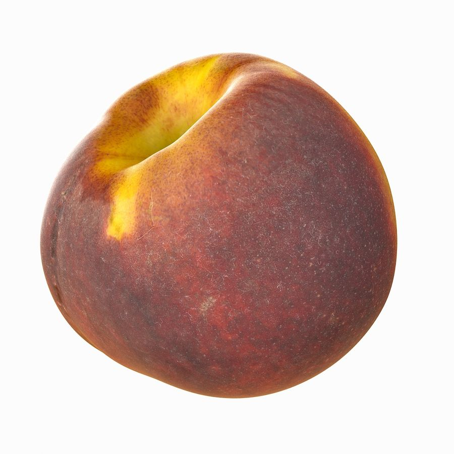 Tropical Realistic Peach royalty-free 3d model - Preview no. 21