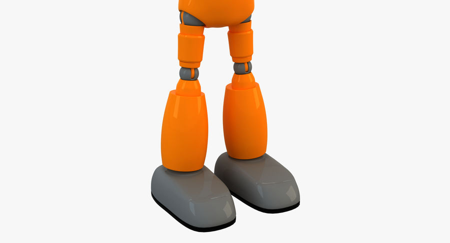 ROBOT(1) royalty-free 3d model - Preview no. 10