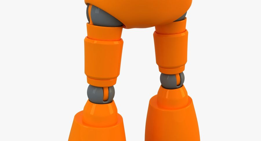 ROBOT(1) royalty-free 3d model - Preview no. 11