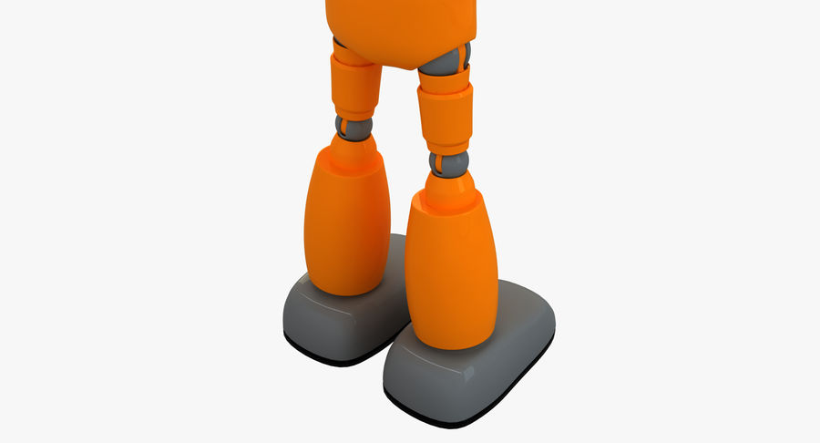 ROBOT(1) royalty-free 3d model - Preview no. 9