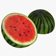 Watermelon Cross Section 3 3D Model 3d model