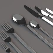 Cutlery Set Small 3d model
