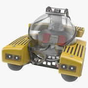 Łódź podwodna Triton 3d model