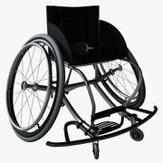 Cadeira de rodas 3d model