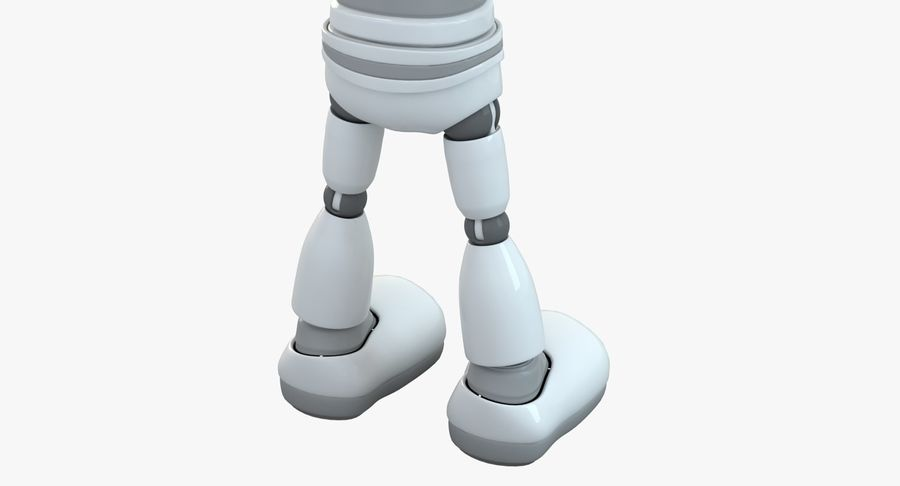Robot (1) royalty-free 3d model - Preview no. 14
