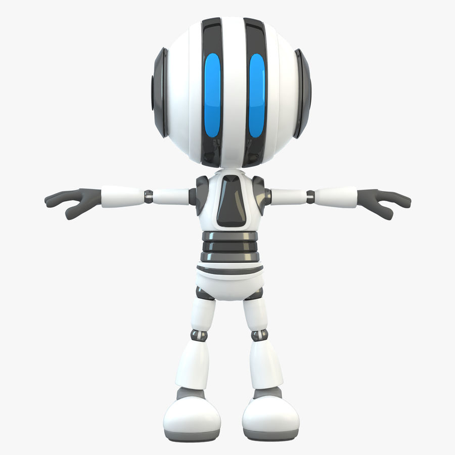 Robot (1) royalty-free 3d model - Preview no. 1