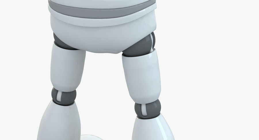 Robot (1) royalty-free 3d model - Preview no. 11