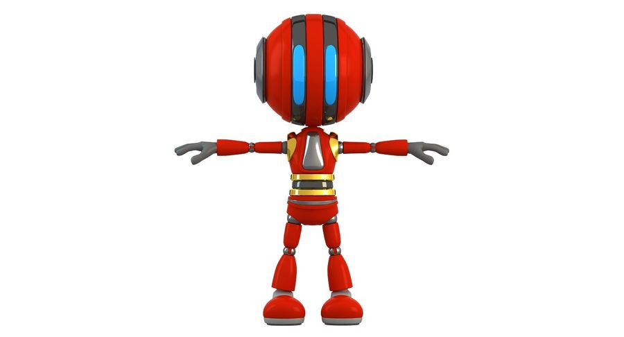 ROBOT(1) royalty-free 3d model - Preview no. 15