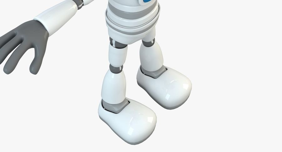 Robot (1) royalty-free 3d model - Preview no. 17