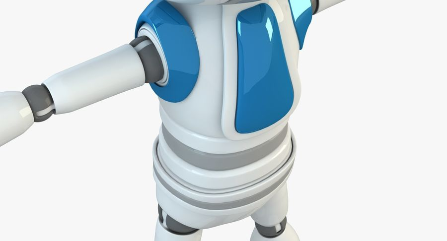 Robot (1) royalty-free 3d model - Preview no. 2