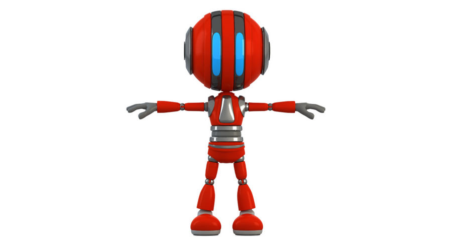 Robot (1) royalty-free 3d model - Preview no. 13
